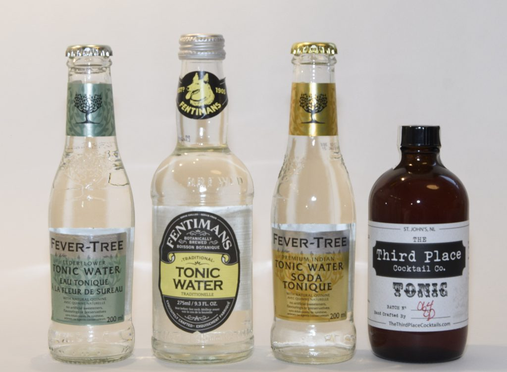 Gin Challenge - four more tonic waters
