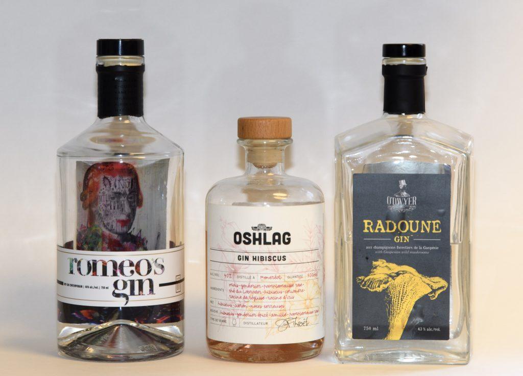 Quebec Gin - Romeo's, Oshlag, Radoune